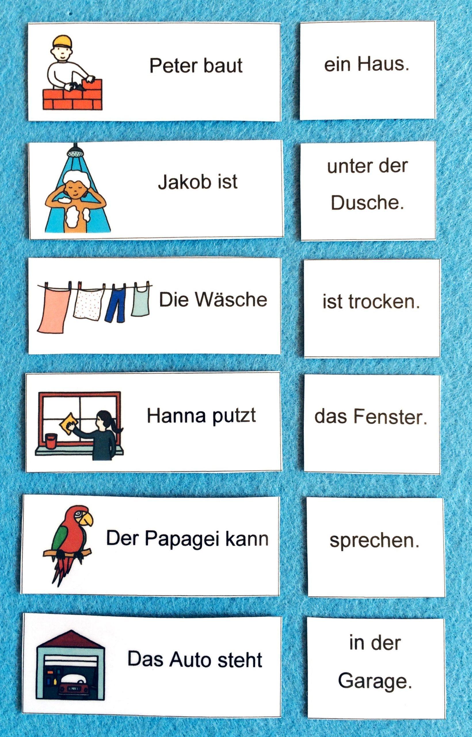 Passt Der Satz Zum Bild? Dieses Und Viele Weitere Kostenlose innen Lernspiele Deutsch Grundschule Kostenlos