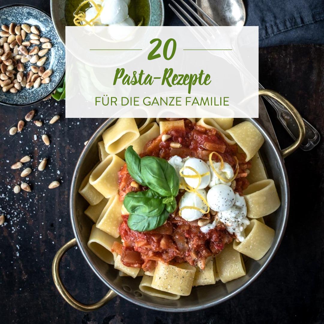 Pasta-Rezepte Für Die Ganze Familie: Für Klein- Und verwandt mit Rezepte Familie