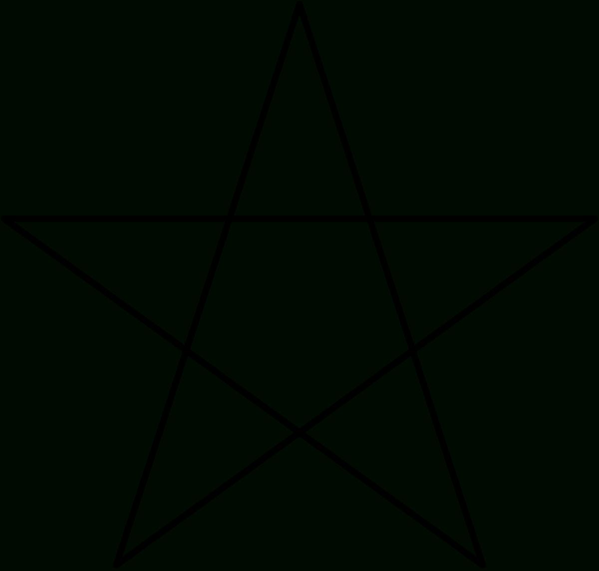 Pentagramm – Wikipedia für Wie Zeichnet Man Einen Stern Mit 5 Spitzen