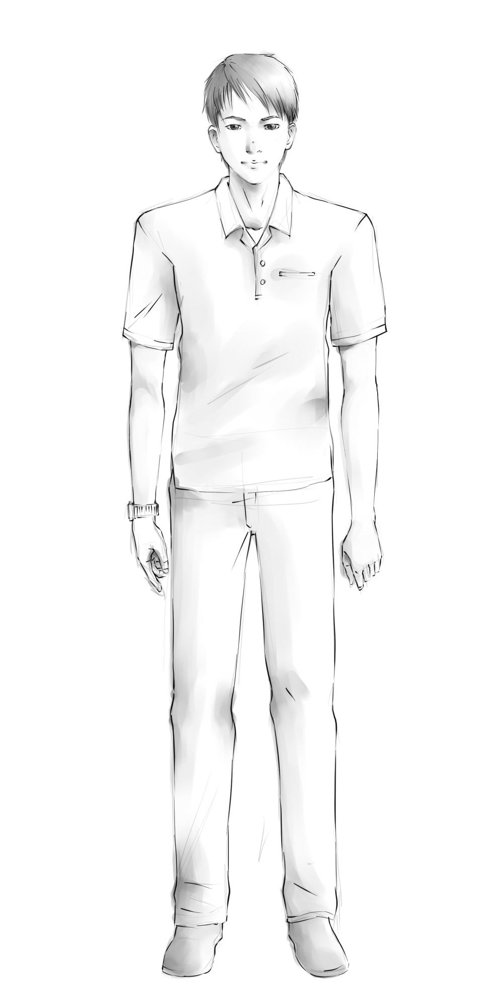 Personen Zeichnen – Wikihow innen Wie Zeichne Ich Einen Menschen