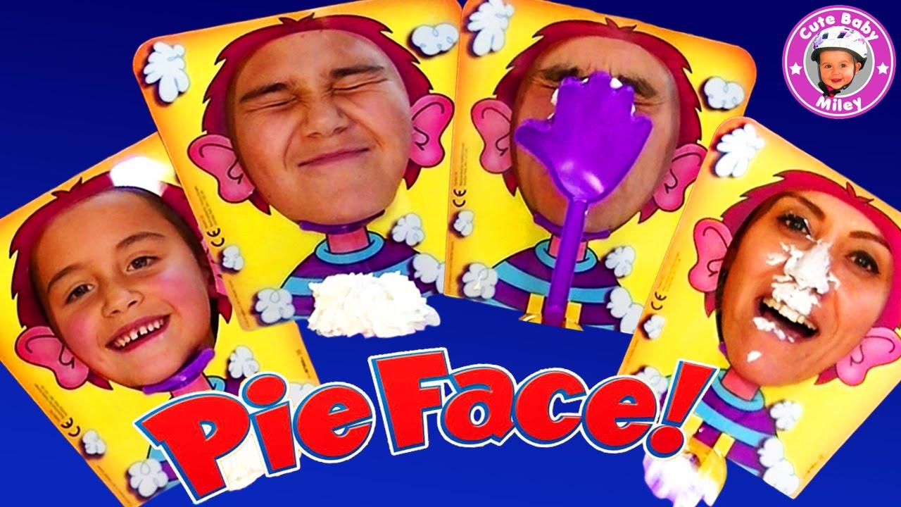 Pie Face ! Challenge - Wir Spielen Das Lustige Spiel Mit Schlagsahne -  Kinderkanal für Lustige Spiele Für Kindergeburtstag