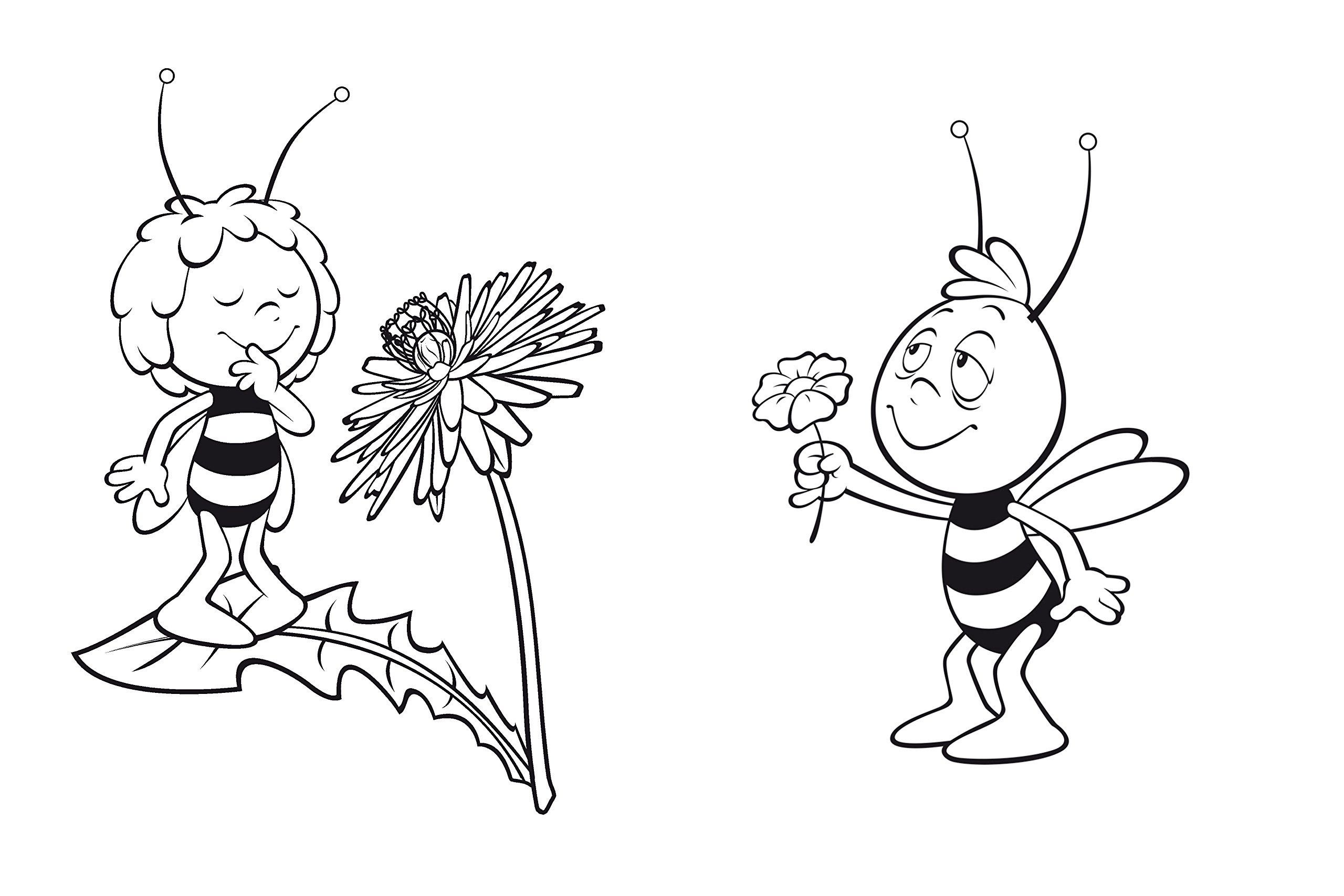 Pin Auf Applikationen mit Biene Zum Ausmalen