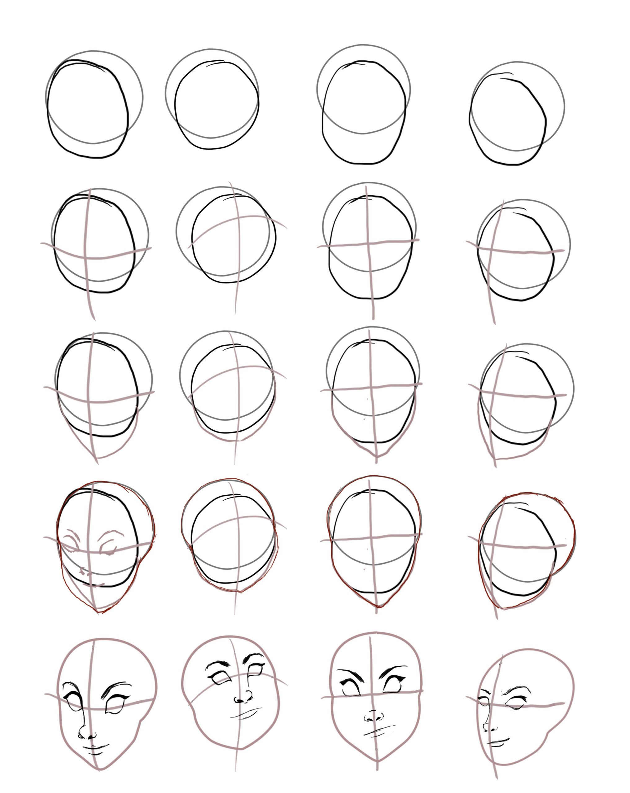 Pin Auf Bell verwandt mit Kopf Zeichnen Lernen