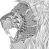 Pin Auf Cats bestimmt für Ausmalbild Löwe