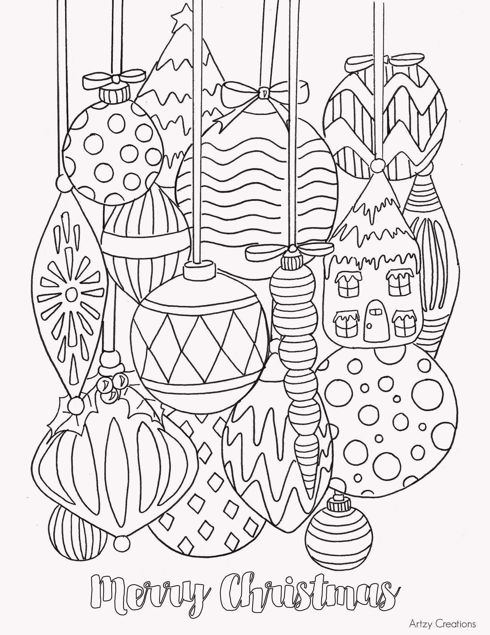 Pin Auf Coloring Pages - Bojanke mit Ausmalbilder Weihnachten