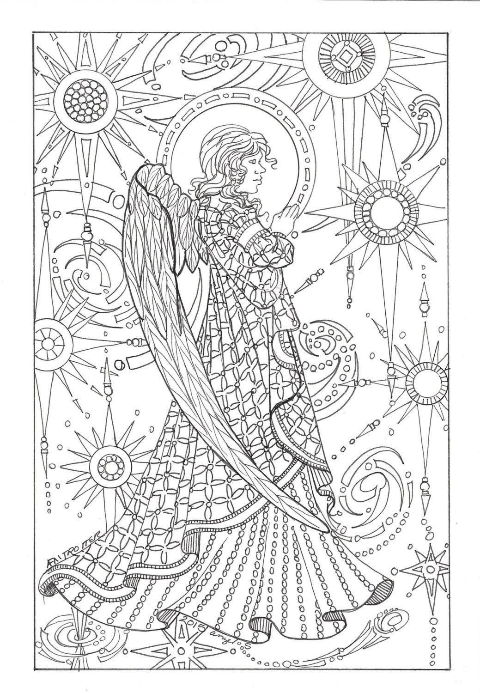 Pin Auf Engel - Feen /angel-Fairy bei Engel Mandala