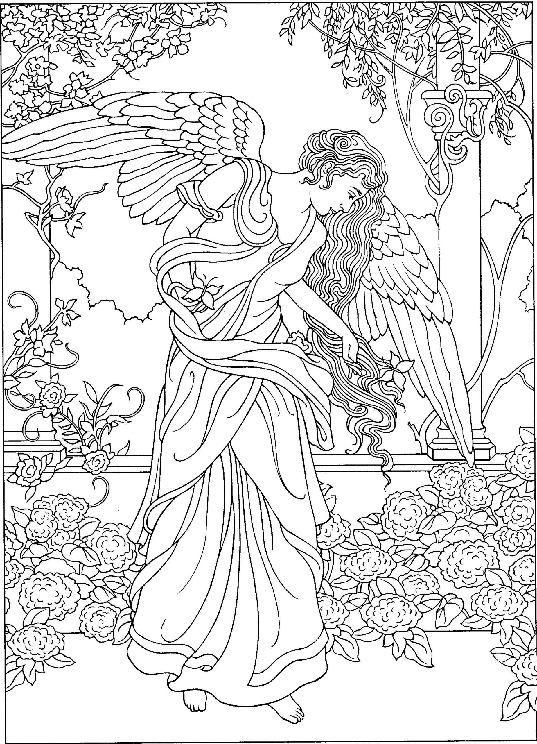 Pin Auf Ideen Fürs Zeichnen mit Engel Mandala