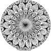 Pin Auf Malen verwandt mit Mandala Zum Ausdrucken Für Erwachsene