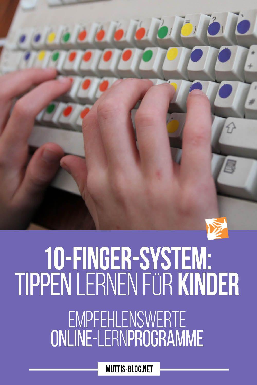 Pin Auf Muttis Nähkästchen - Pins Vom Blog in 10 Finger Schreiben Lernen Für Kinder