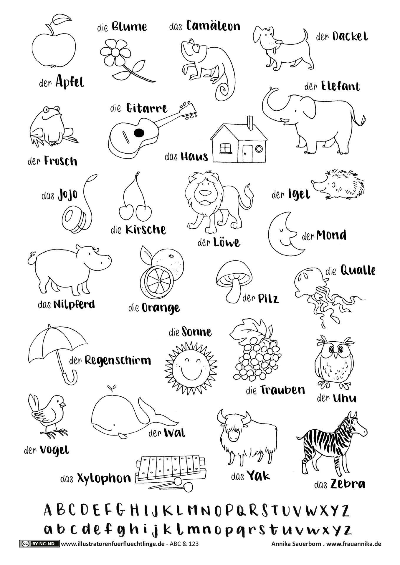 Pin Auf Német über Buchstaben Lernen Für Vorschulkinder