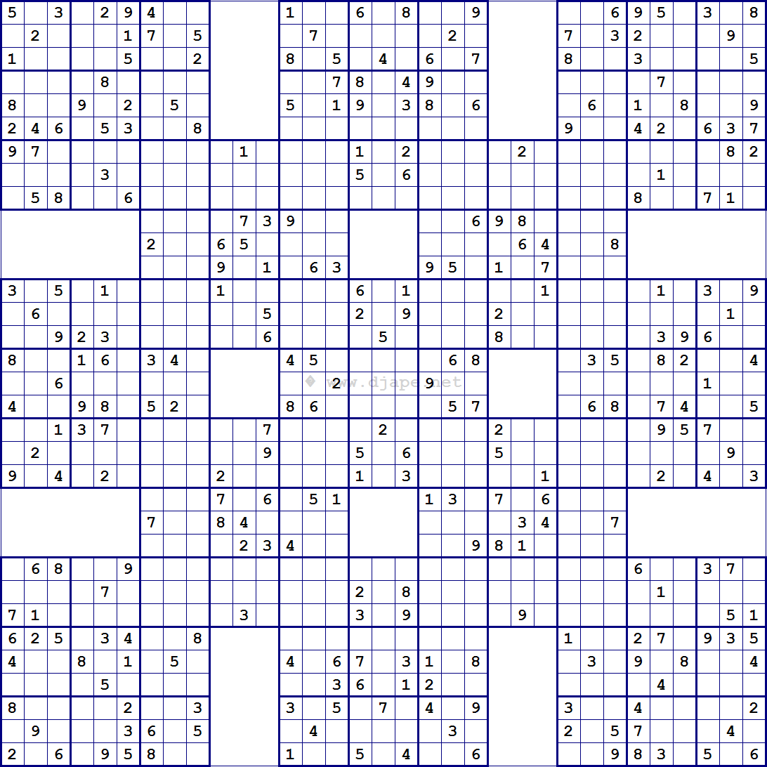 Pin Auf Sudoku in Sudoko Rätsel