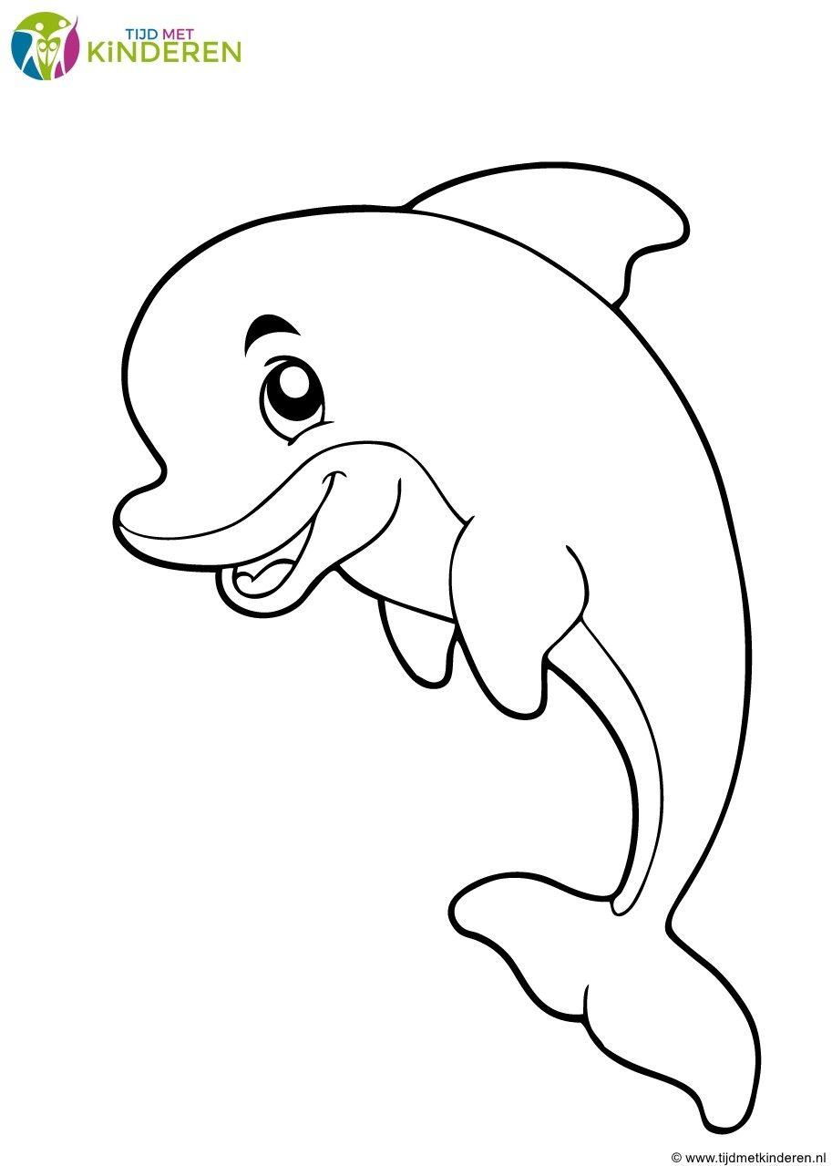 ausmalbilder delfine kostenlos - kinderbilder.download