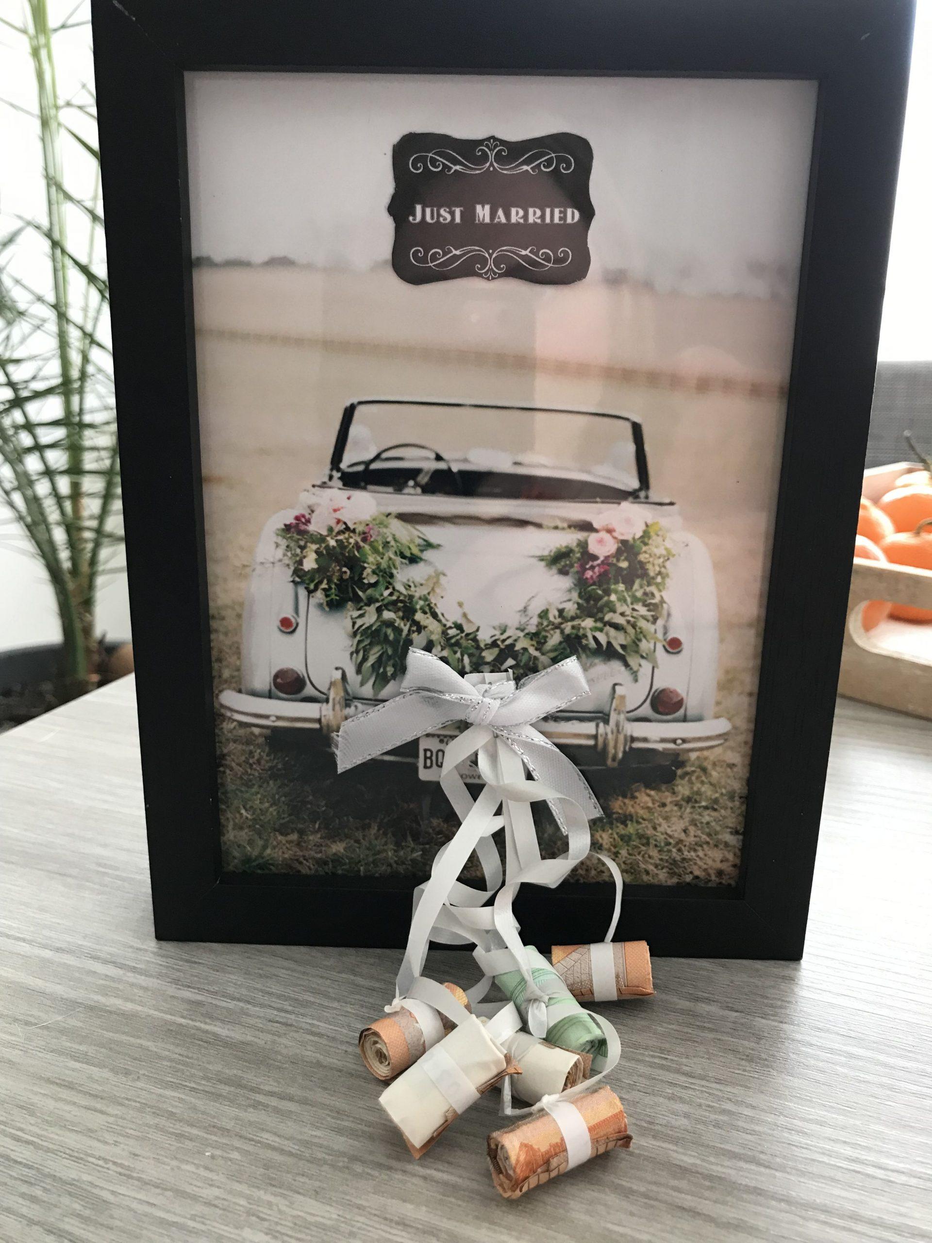Pin Von +49 171 Auf Hochzeit | Hochzeit Geschenk Geld, Diy für Lustige Hochzeitsgeschenke Mit Geld
