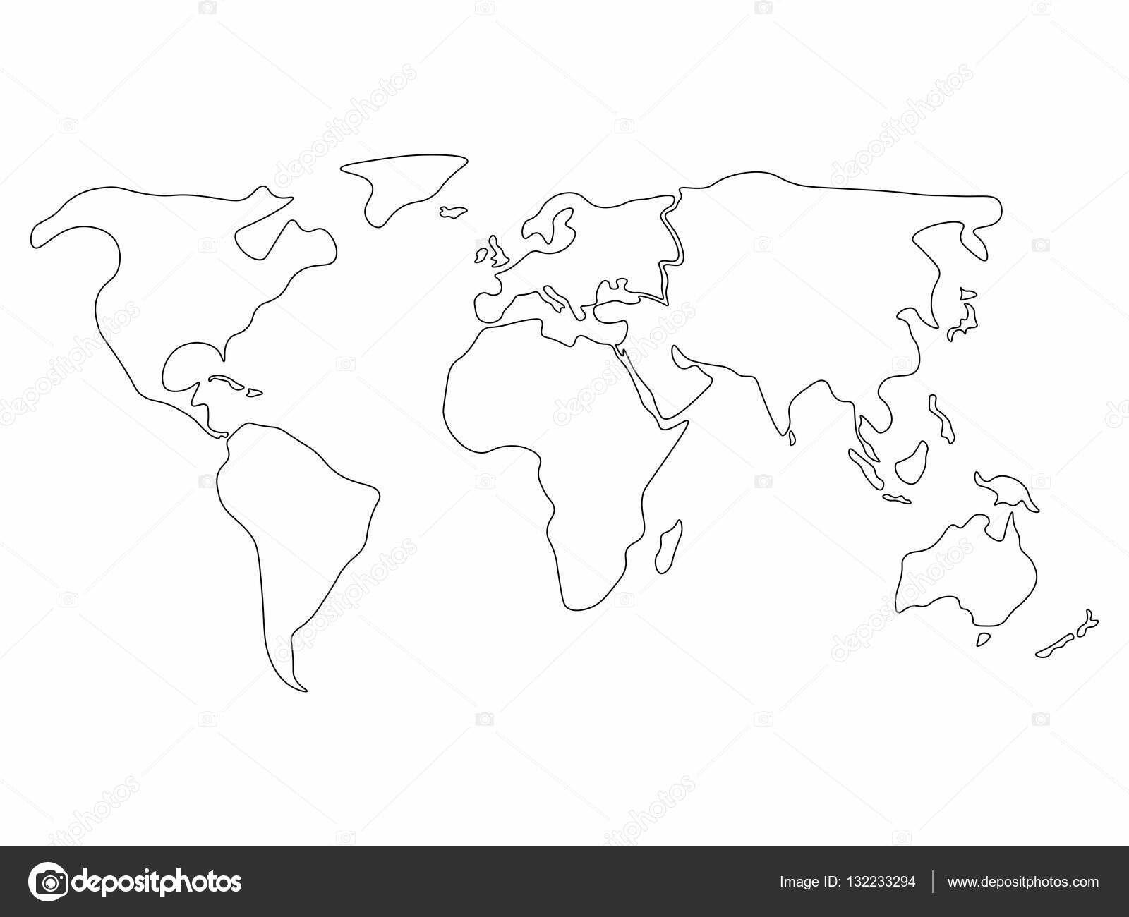 Pin Von Alesya Shevtsova Auf Тату (Mit Bildern) | Weltkarte über Weltkarte Umrisse