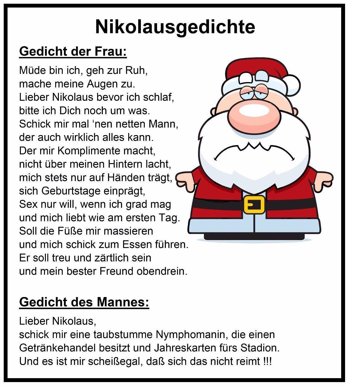 Pin Von Anita Mayerhofer Auf Advent Und Winterzeit | Sprüche über Lustige Gedichte Zur Weihnachtszeit