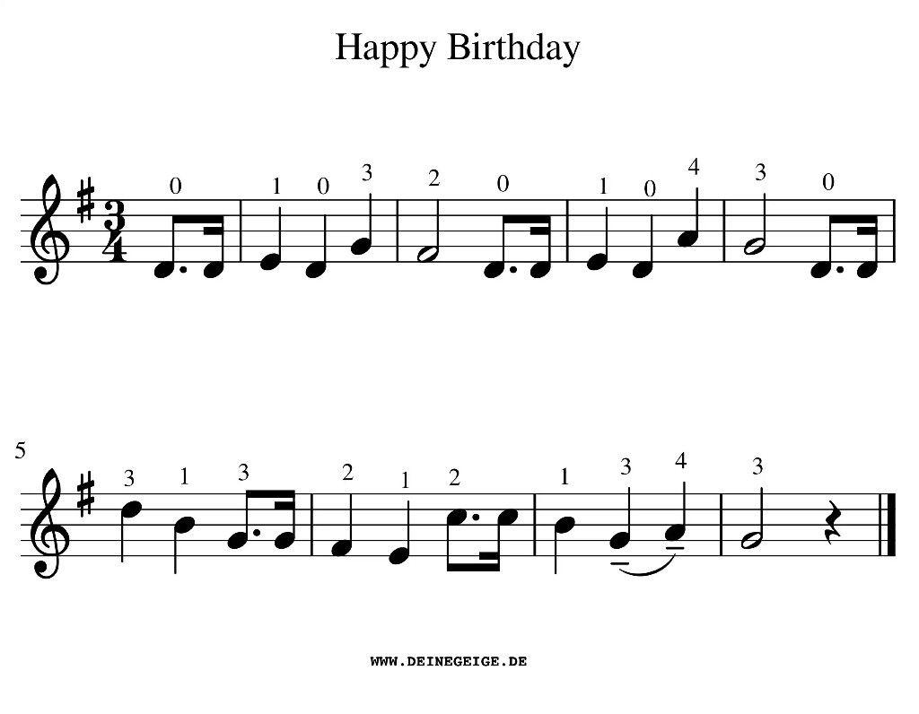 Pin Von Conny Auf Finja | Happy Birthday Noten, Noten Und mit Happy Birthday Noten Akkordeon