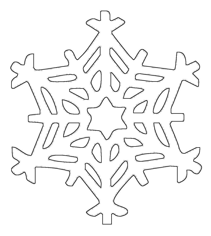 Pin Von Cristalina Vațic Auf Desene (Mit Bildern verwandt mit Schneeflocken Vorlage