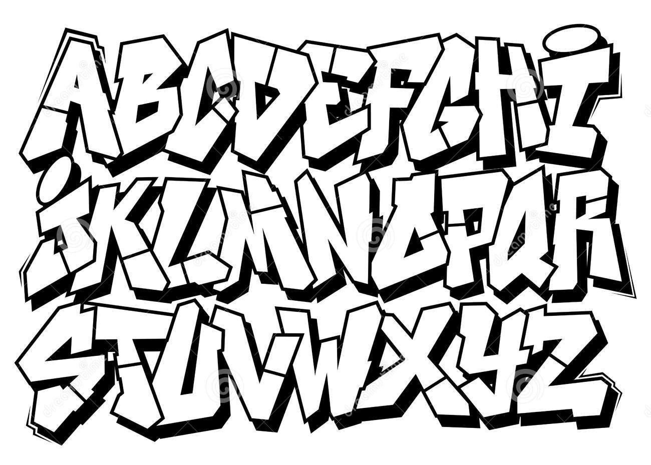 Pin Von Graffitibigg Auf Graffiti Schrift | Graffiti bei Graffiti Alphabet Lernen