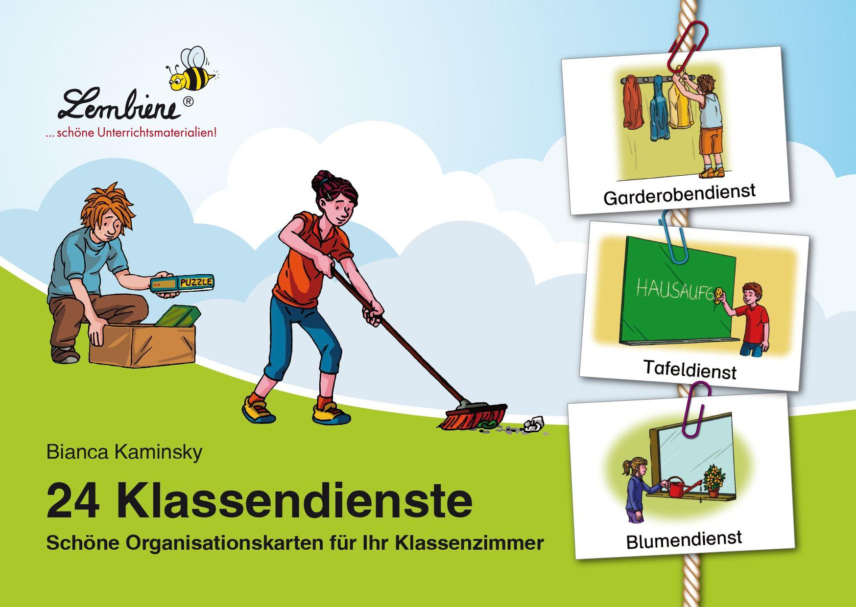 Pin Von Iris Busch-Zinn Auf Schule Orga (Mit Bildern bestimmt für Klassendienste Kopiervorlage