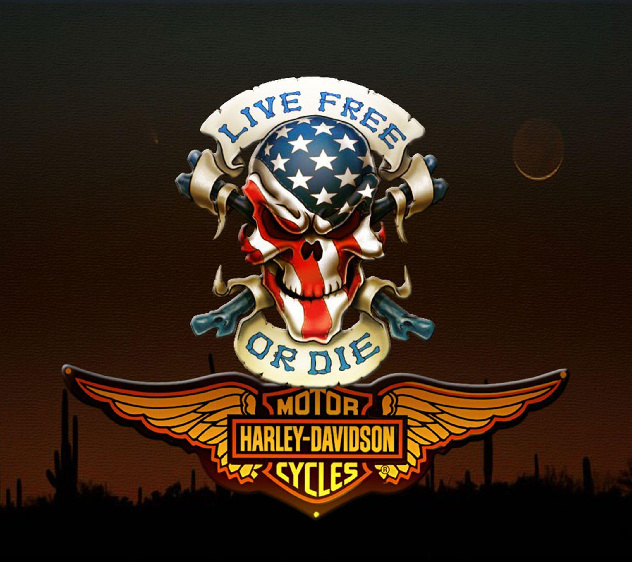 Pin Von Kirsi Rautio-Laitinen Auf Harley - Davidson | Harley über Harley Davidson Hintergrundbilder