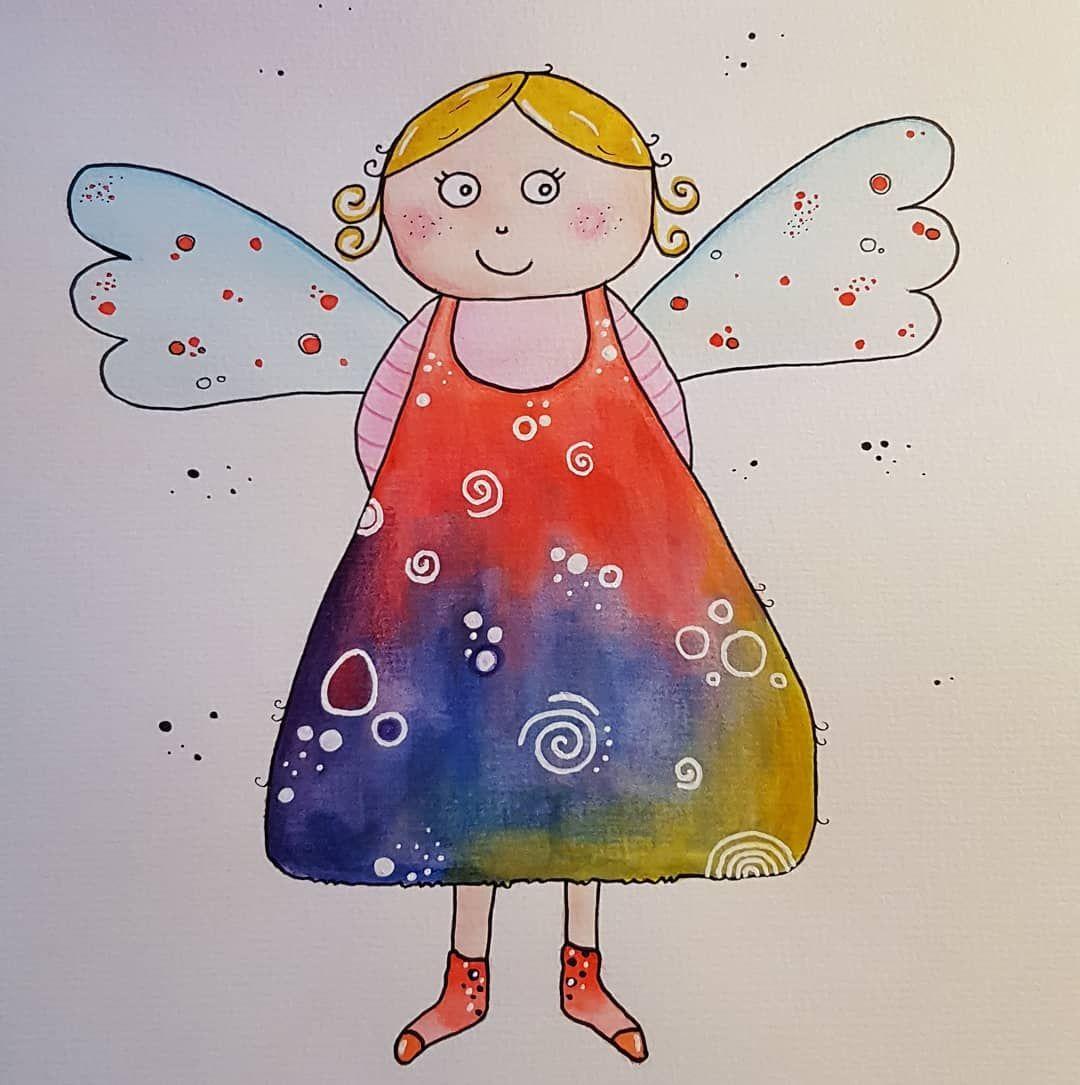 Pin Von Roni Morton Auf Doodles ✏ | Engel Zeichnen, Malen innen Engelsgesicht Malen