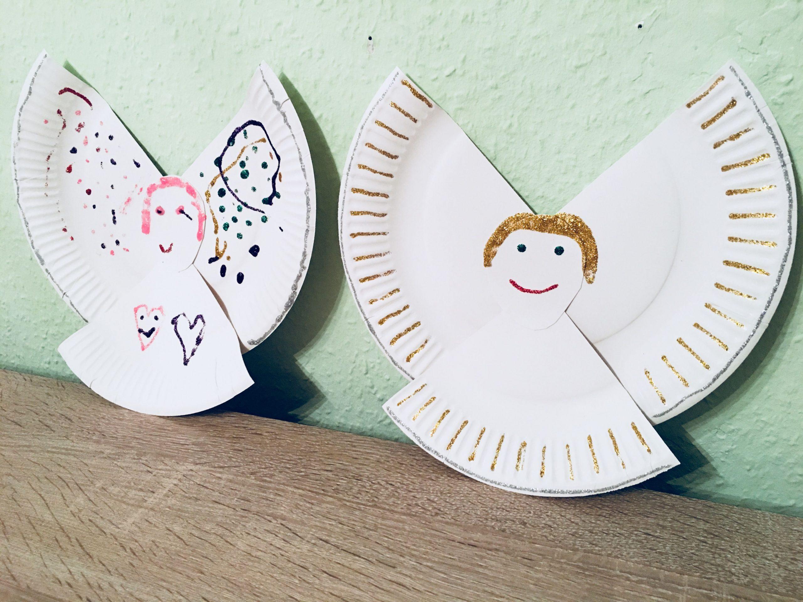 Pin Von Sh Auf Basteln Kinderstunde (Mit Bildern)   Basteln in Engel Basteln Vorlagen