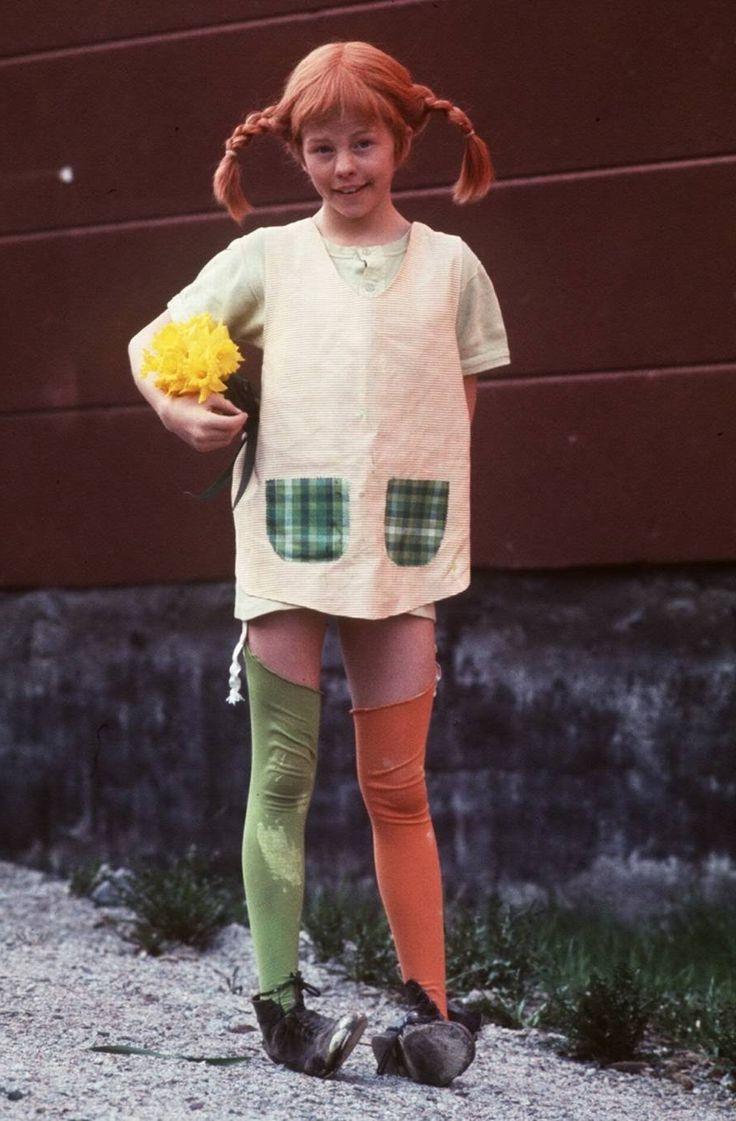 Pippi Langstrumpf Kinderkostüm: Kinderschürze Nähen bei Pippi Langstrumpf Kostüm Selber Nähen