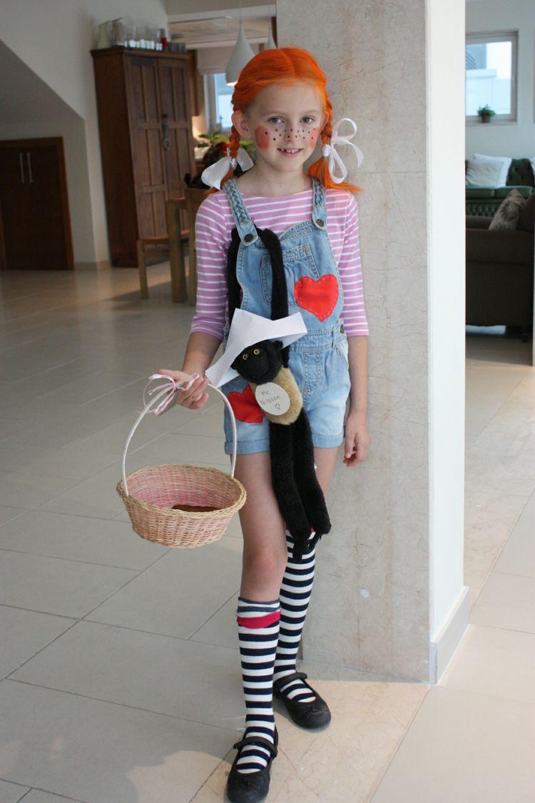 Pippi Langstrumpf Kostüm Selber Nähen (Mit Bildern) | Pippi verwandt mit Pippi Langstrumpf Kostüm Selber Nähen