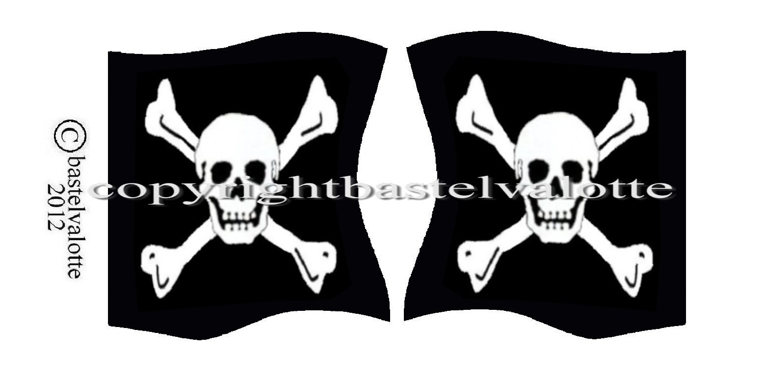 Piratenflaggen Set 015 bei Piratenflaggen