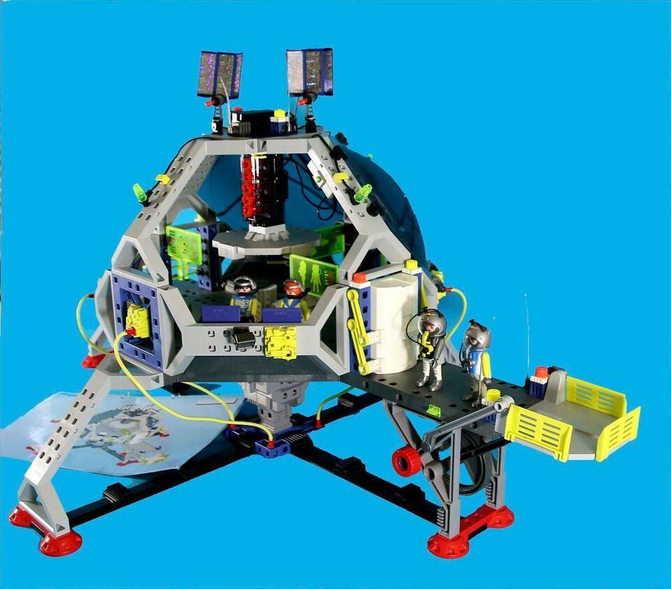 Playmobil® 3079 Raumstation • Commander Base • Mit Licht & Ba über Playmobil Raumstation