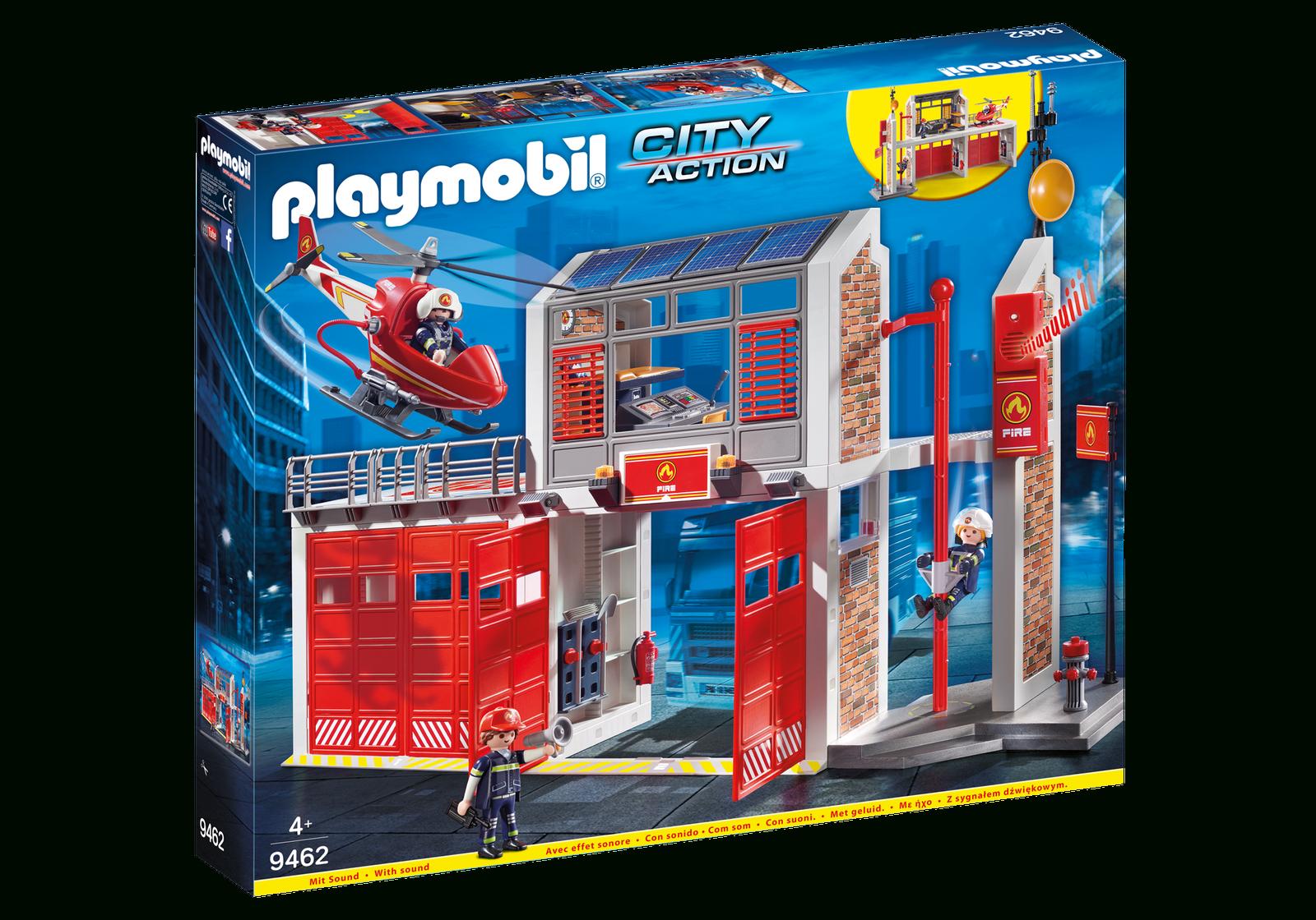 Playmobil 9462 Grosse Feuerwache - Eur 69,89 | Picclick De bei Playmobil Feuerwehrwache