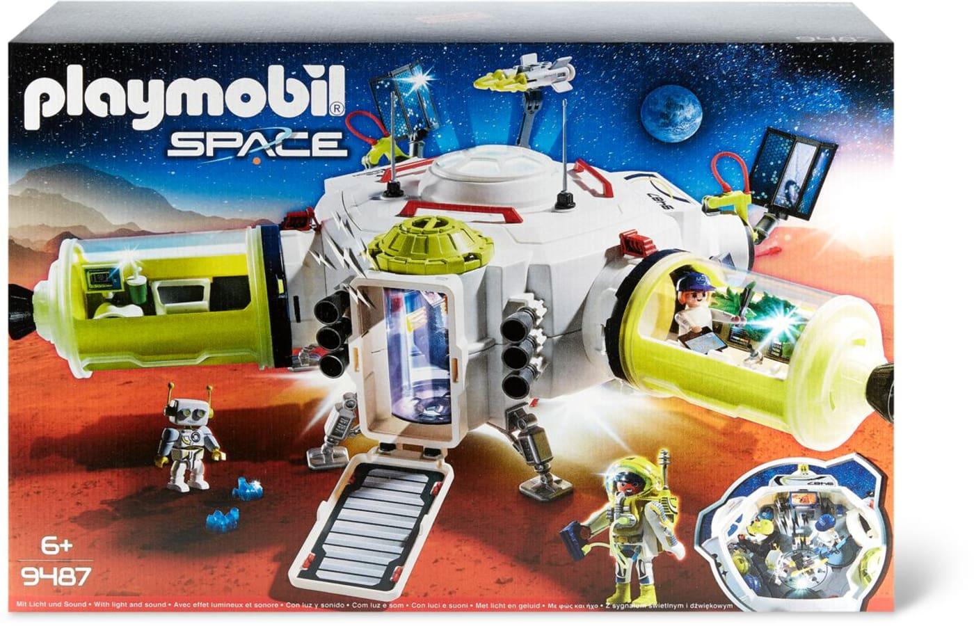 Playmobil 9487 Mars-Raumstation über Playmobil Raumstation