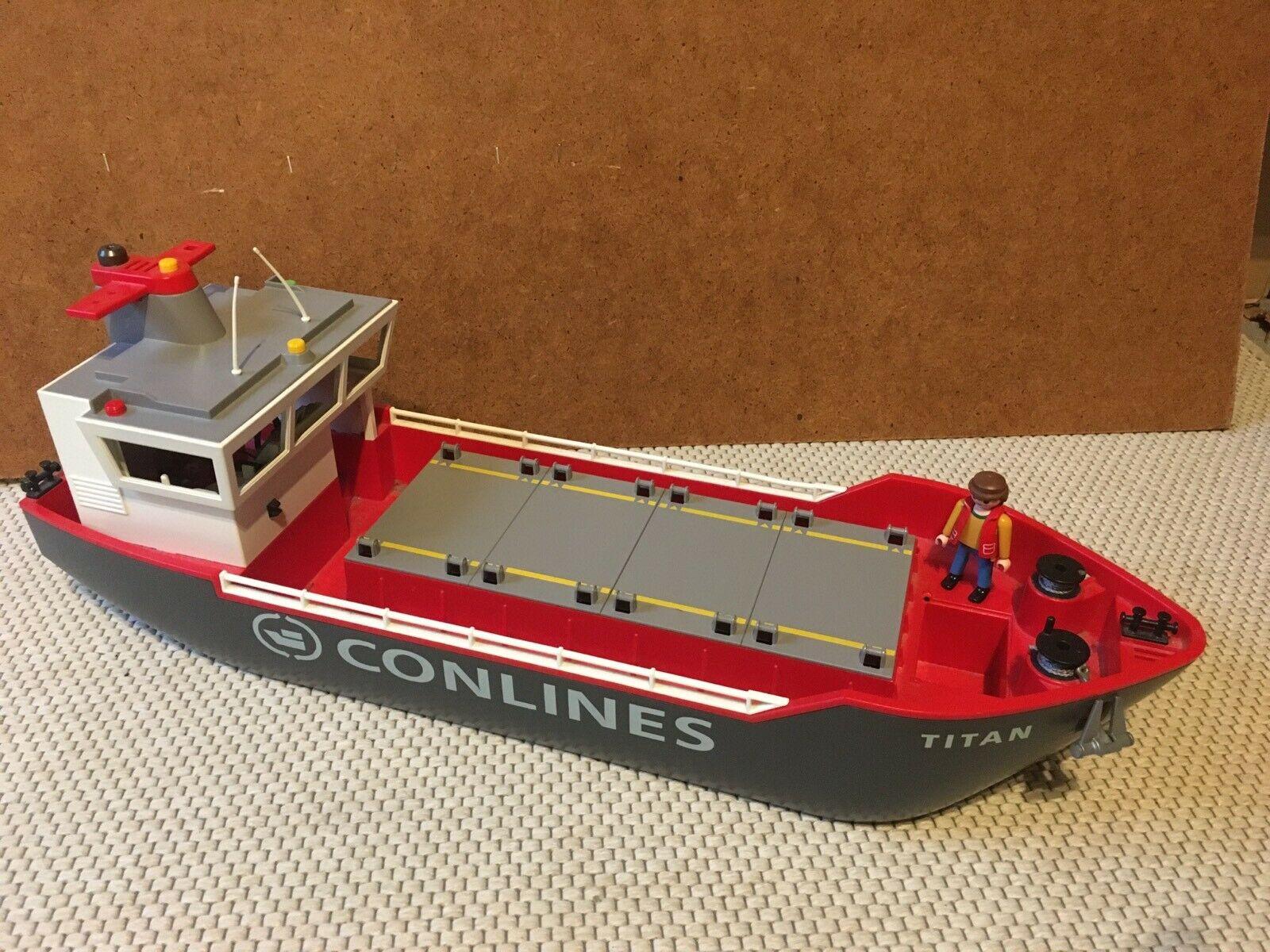Playmobil Containerschiff Gebraucht Kaufen! Nur 3 St. Bis bestimmt für Playmobil Containerschiff