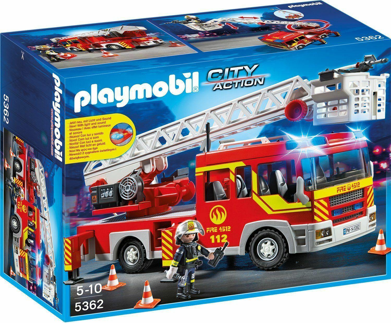 Playmobil Feuerwehr Günstig Kaufen | Ebay in Playmobil Feuerwehrwache