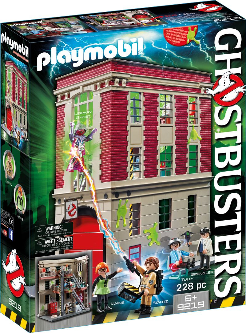 Playmobil® Ghostbusters - Feuerwache mit Playmobil Feuerwehrwache