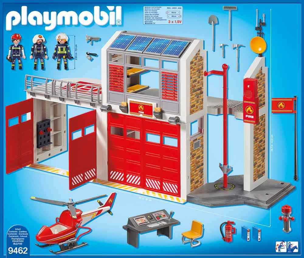 Playmobil Playmobil City Action 9462 4008789094629 Große in Playmobil Feuerwehrwache