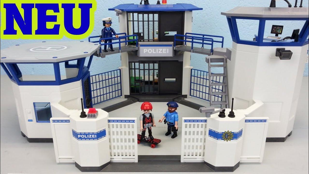 Playmobil Polizei Kommandozentrale 6872 Auspacken Seratus1 Neuheit 2016 ganzes Polizeiwache Playmobil