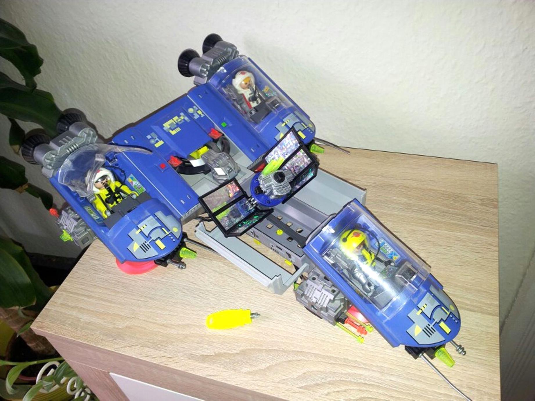 Playmobil Raumschiff Gebraucht Kaufen! Nur 4 St. Bis -60 innen Playmobil Raumfahrt