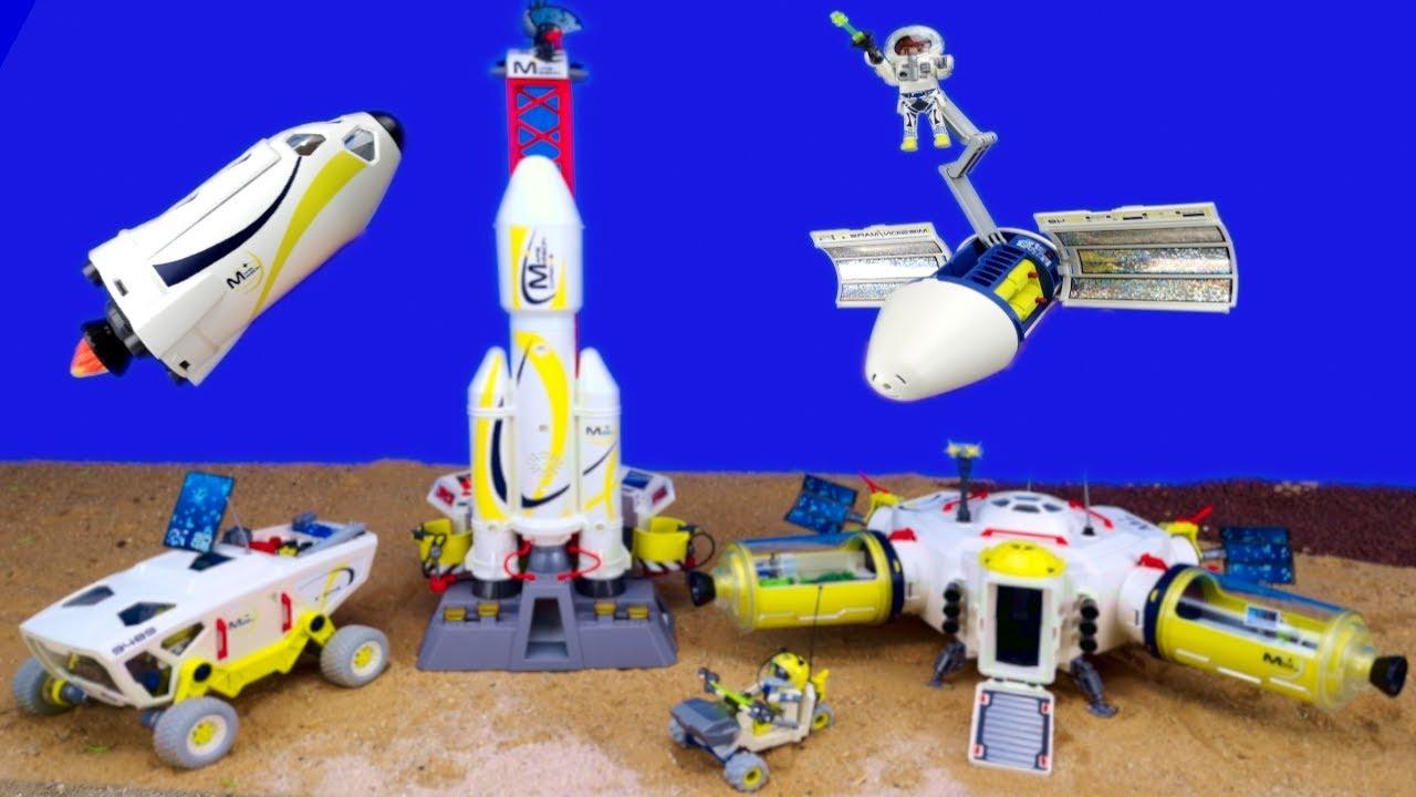 Playmobil Space Weltraum Unboxing Als Kinderfilm in Playmobil Raumfahrt