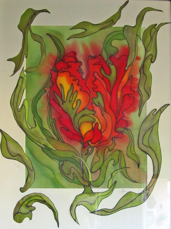 Poesie In Seide Utk - Seidenmalerei Heidelberg - Edingen bestimmt für Seidenmalerei Motive