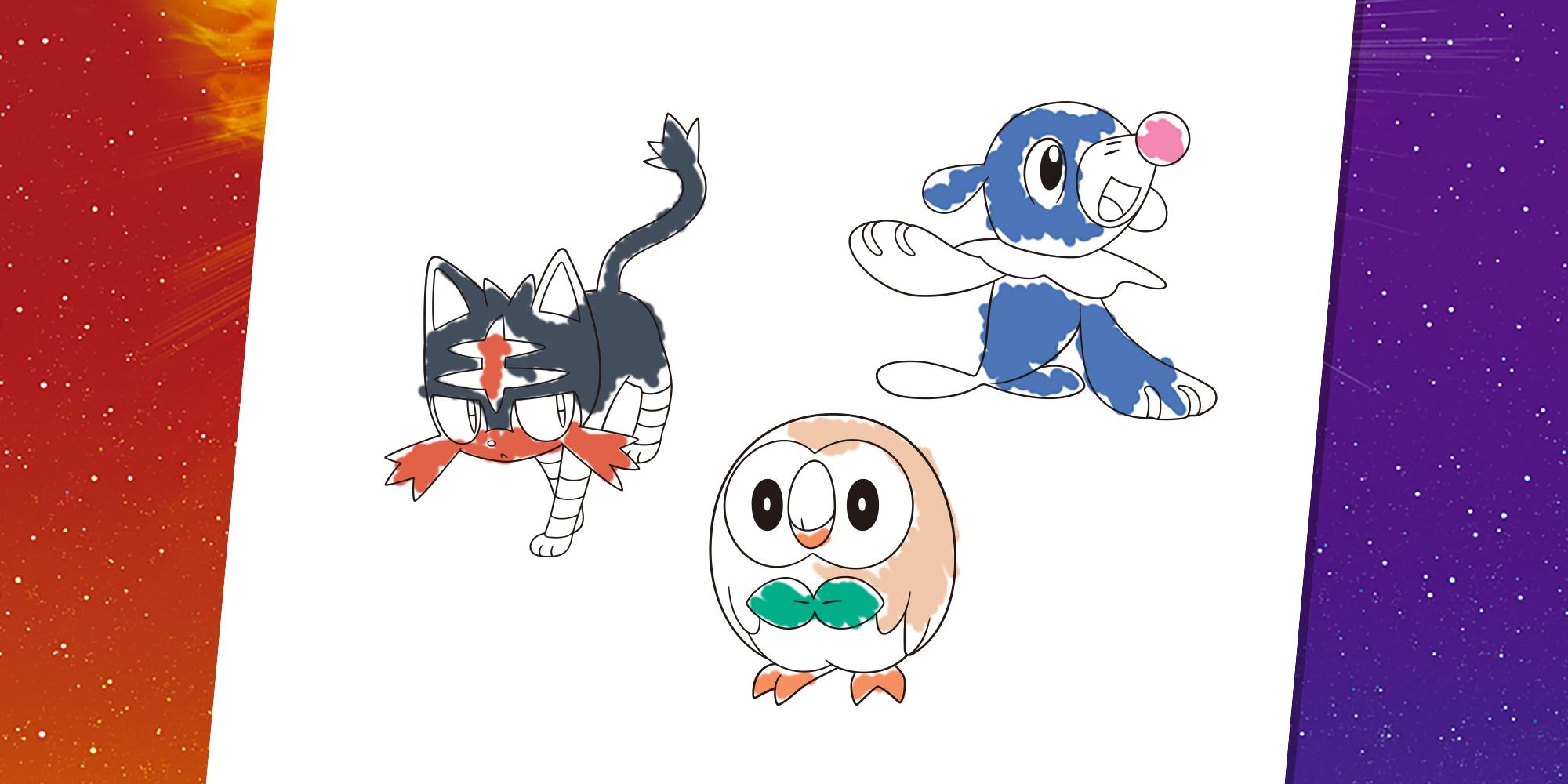 Pokémon Ausmalen | Nintendo Kids Club in Bilder Am Computer Ausmalen