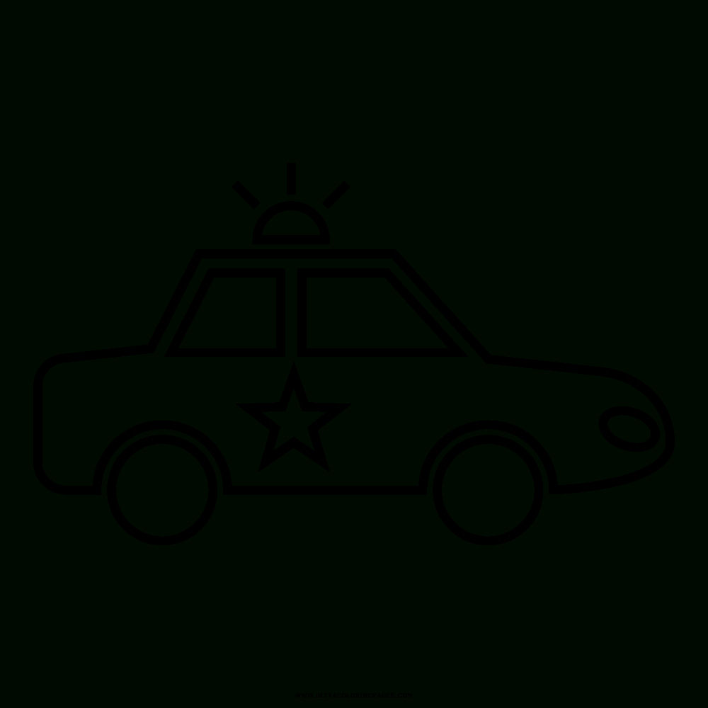 polizeiauto malvorlage - kinderbilder.download