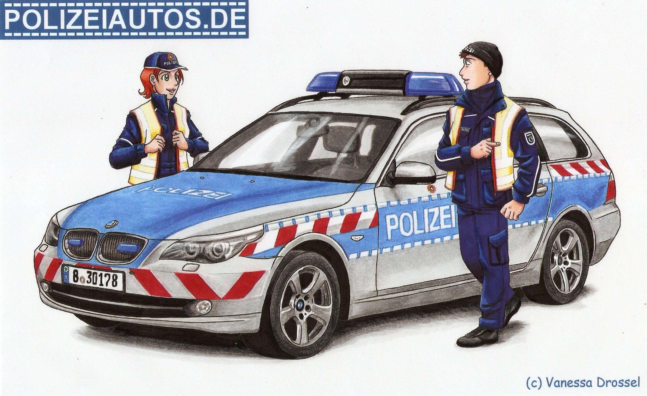 Polizeiautos.de bestimmt für Polizei Ausmalbilder