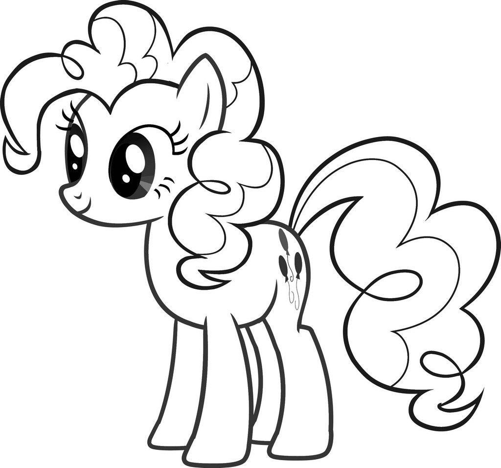 Pony Ausmalbilder Zum Ausdrucken – Ausmalbilder Für Kinder ganzes My Little Pony Malvorlage