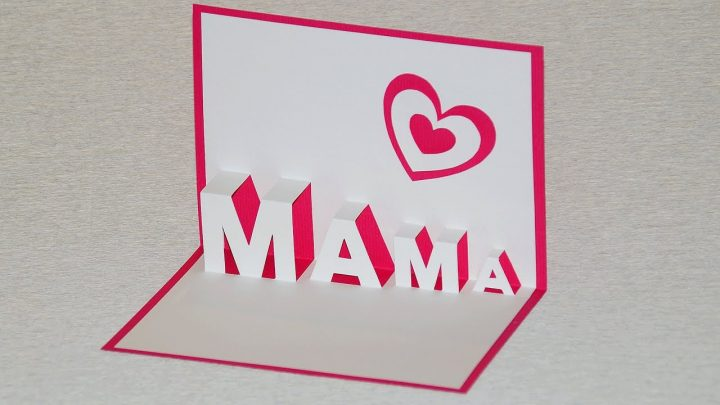 Pop Up Card For Mother's Day - Diy verwandt mit Was Kann Man Zum Muttertag Machen