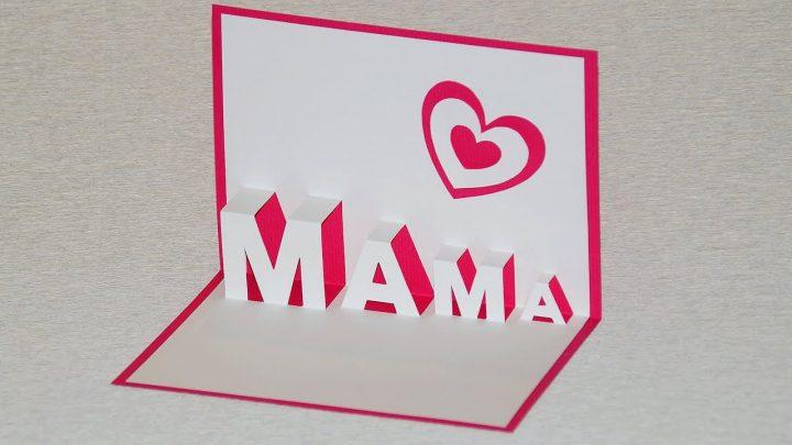 Pop Up Card For Mother's Day - Diy verwandt mit Was Kann Man Zum Muttertag Machen