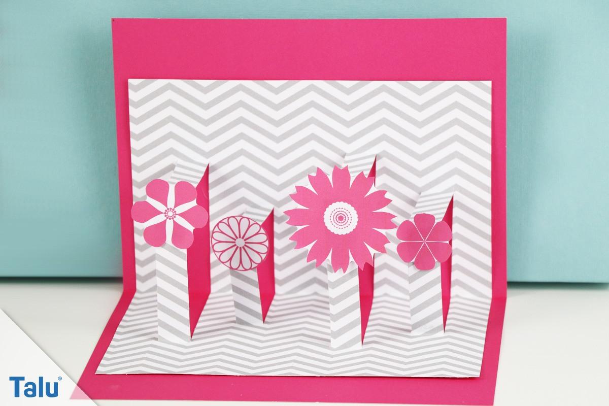 Pop Up Karten Basteln - 3 Ideen Mit Anleitung Und Vorlage für Glückwunschkarten Basteln