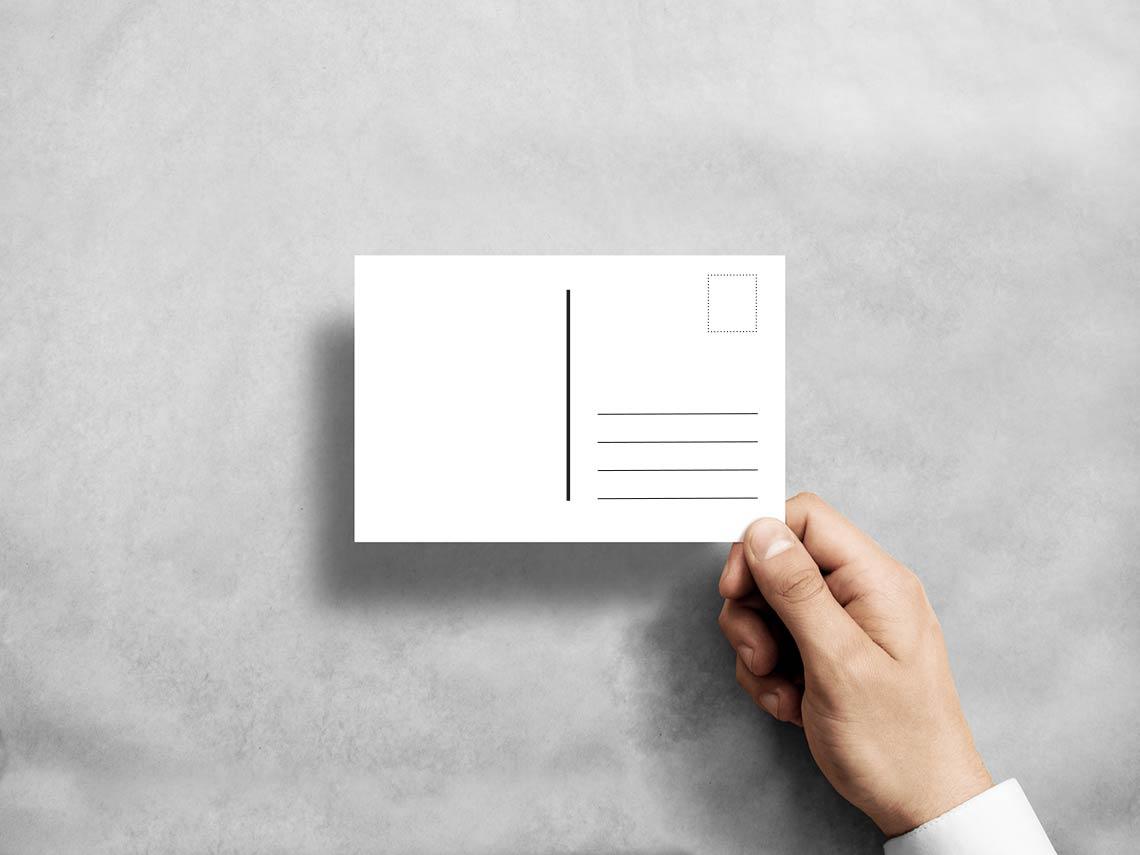 Postkarten Vorlage - So Einfach Können Sie Postkarten Layouten mit Postkarten Kostenlos Drucken