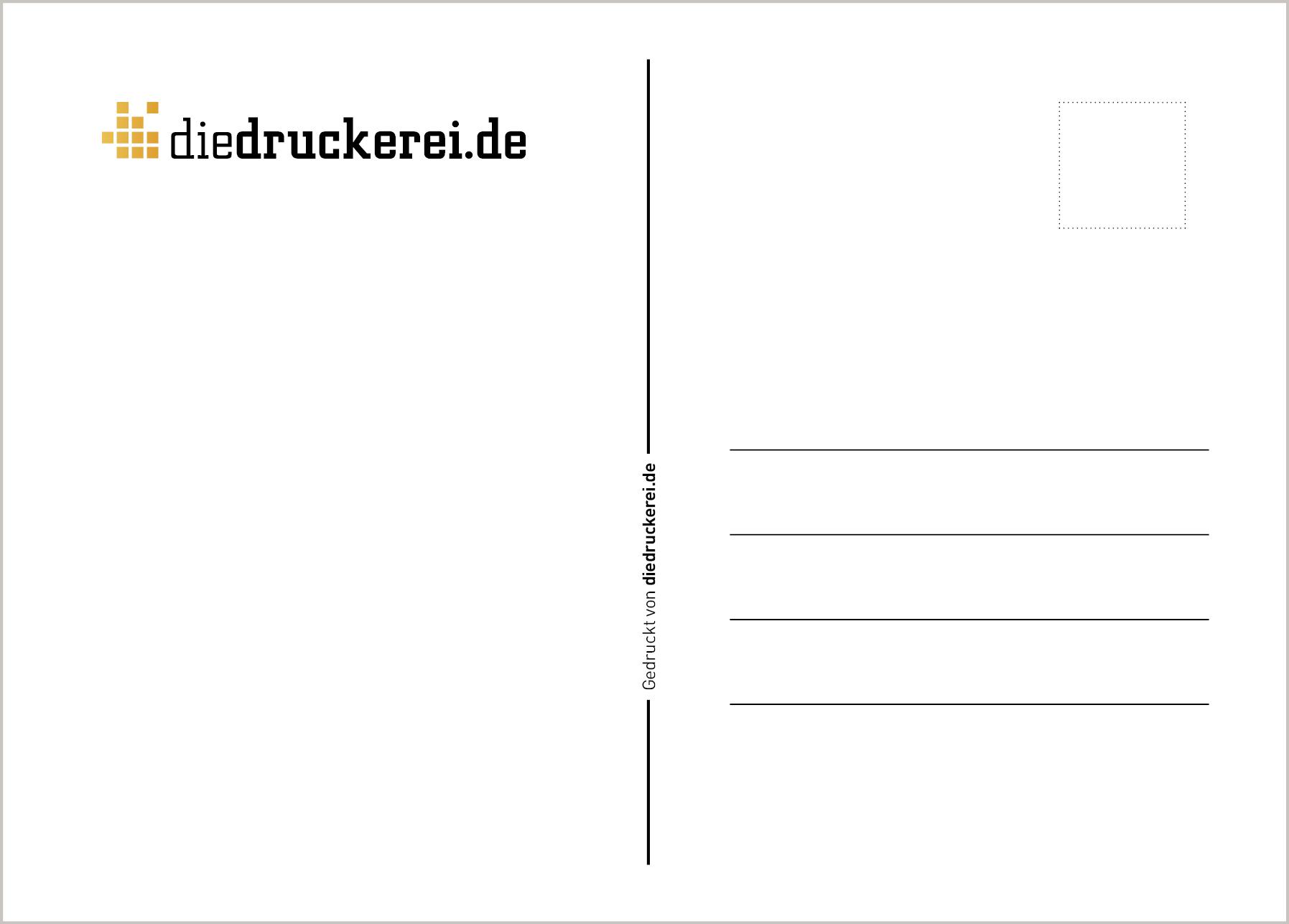 Postkarten: Vorlagen Für Die Rückseite bestimmt für Postkarten Kostenlos Drucken