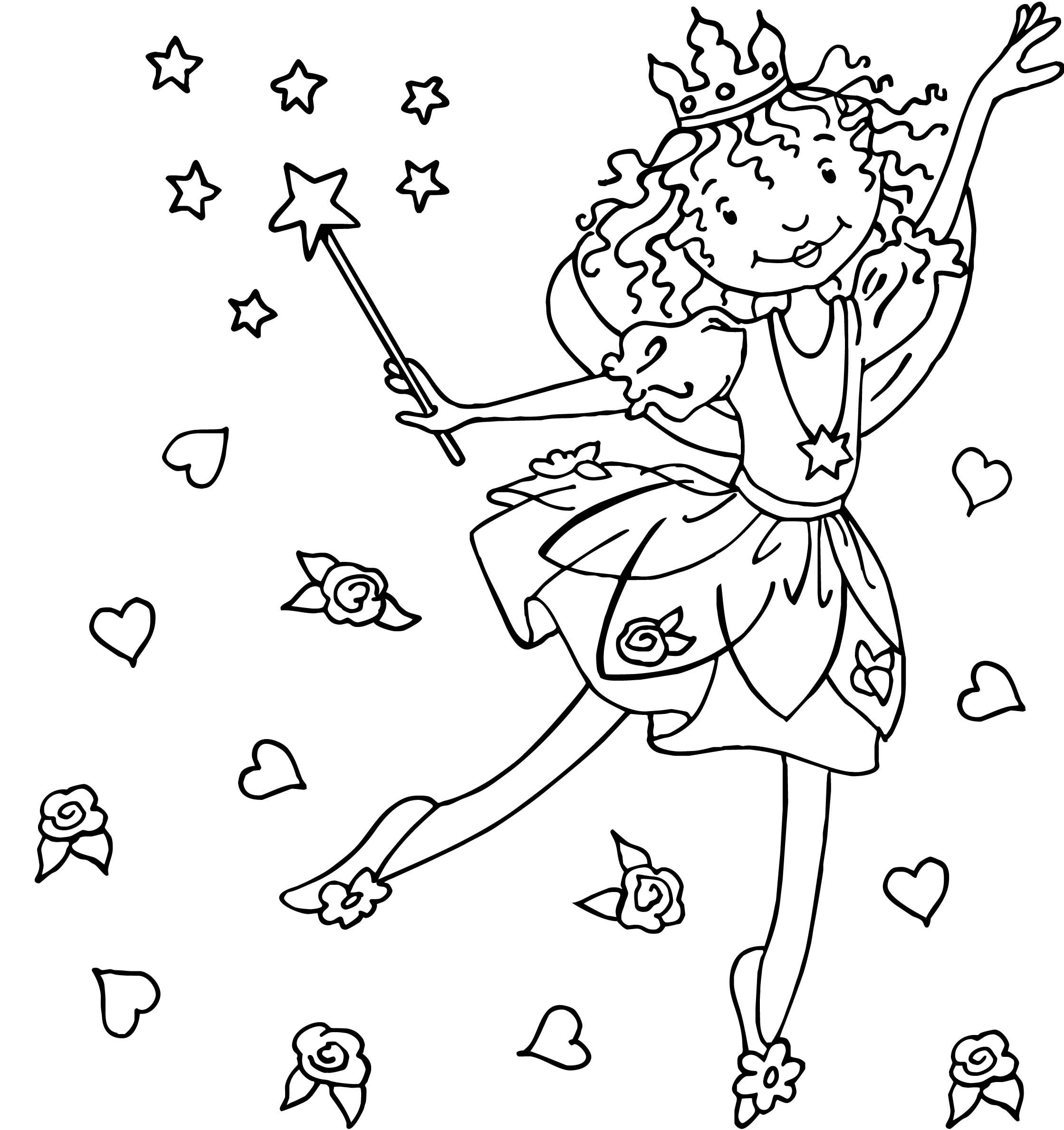 Princess Lillifee | Lillifee Ausmalbild, Ausmalbilder bei Ausmalbilder Feen Prinzessin